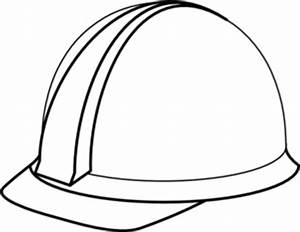 White Hard Hat No Shadow Clip Art at Clker.com - vector ...