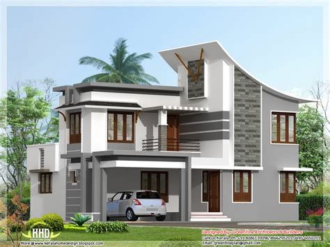 Residential House Plans 4 Bedrooms Modern 3 Bedroom House