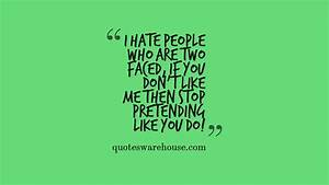 Quotes About Fake Friends. QuotesGram