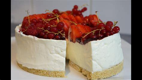 recette du cheesecake facile sans cuisson vanille