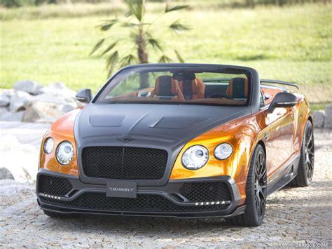 2016 Mansory Bentley Continental Gt Convertible