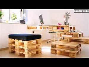 Basteln Mit Paletten : recycling basteln m bel aus paletten selber machen youtube ~ Eleganceandgraceweddings.com Haus und Dekorationen