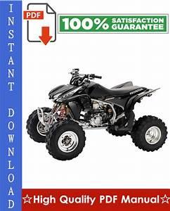 Honda Trx450r    Trx450er Workshop Service Repair Manual