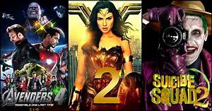 15, Awesome, Superhero, Films, Scheduled, To, Release, In, 2019