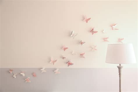 stickers papillon chambre bebe collection avec deco papillon chambre fille abat jour photo