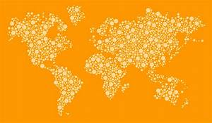 Dotted World Map Psd | Timekeeperwatches