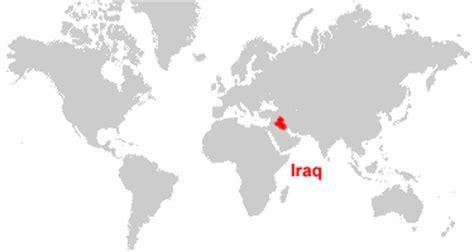 iraq map  satellite image