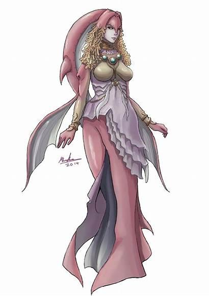 Zelda Twilight Princess Queen Rutela Legend Zora