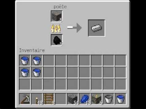 comment faire des lingos de fer minecraft