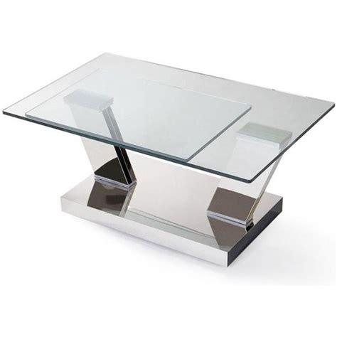 table basse carr 233 e ronde ou rectangulaire au meilleur prix table basse design glass 224