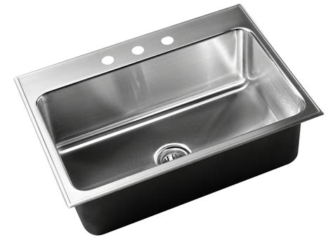 Just Sinks by Drop In Sink Stainless Steel Single Bowl By Just Sinks