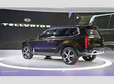 Kia Telluride Concept Mixes 400 Hybrid HP, Sorento