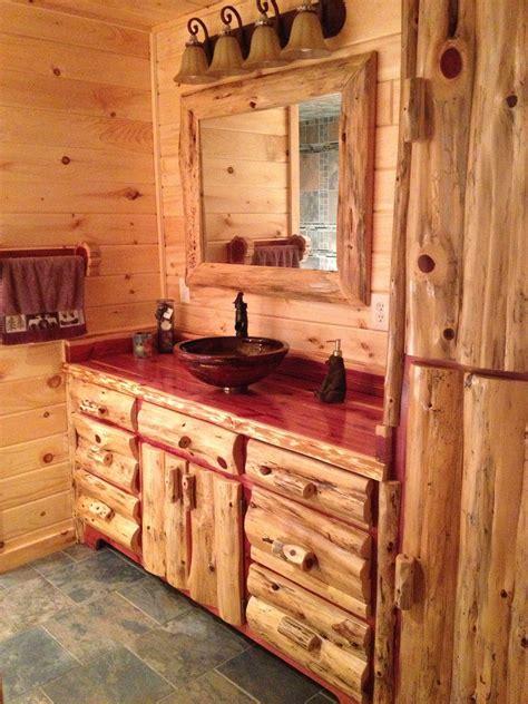 cabin bathroom rustic amish  log home bathrooms log cabin bathrooms cabin bathrooms