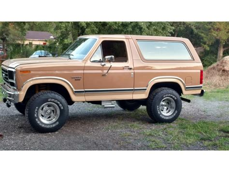 car owners manuals for sale 1984 ford bronco engine control 1984 ford bronco for sale classiccars com cc 1133170