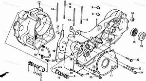 Honda Scooter 1987 Oem Parts Diagram For Crankcase