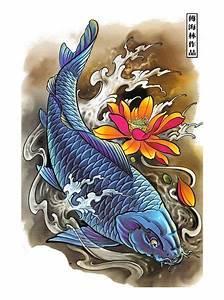 Koi De 9 En Israel : dise o tatuaje de pez coi tattos pinterest ~ Medecine-chirurgie-esthetiques.com Avis de Voitures