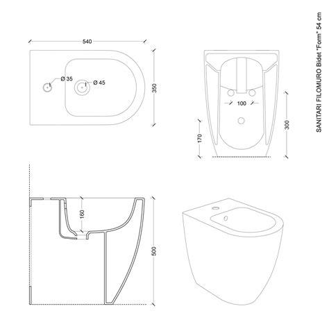 Bidet Design by Sanitari Filoparete In Ceramica Wc Bidet Design Moderno