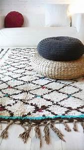 la magie du tapis marocain en 44 photos archzinefr With tapis yoga avec canapés marocains modernes