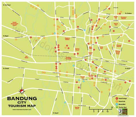 bandung city map