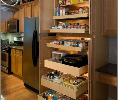 Food Pantry Cabinet Ikea In Great Classic Kitchen Area