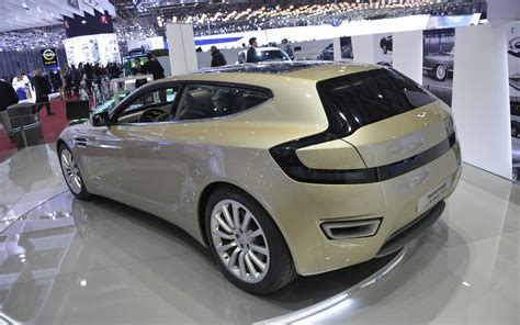 aston martin rapide based bertone jet   cars reviews