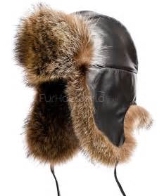 The Swiss Alps Raccoon Fur Trapper Hat