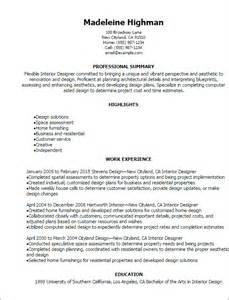 resume interior design templates professional interior designer resume templates to showcase your talent myperfectresume