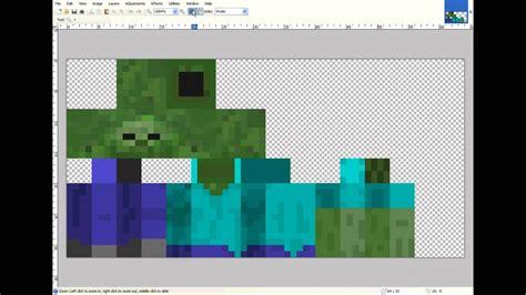 phantauss  skin zombie gamer  minecraft logo