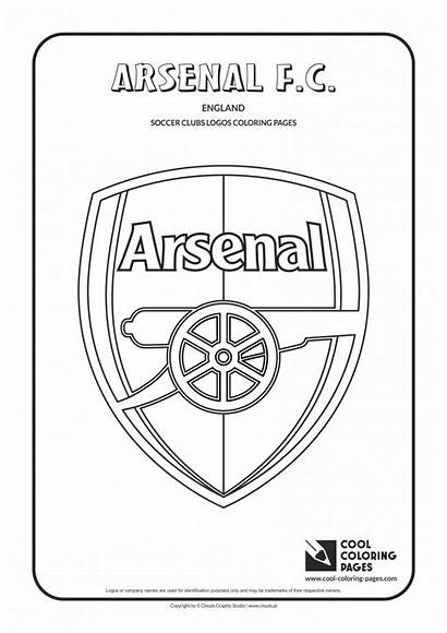 Arsenal Fc Coloring Soccer Logos Cool Barcelona
