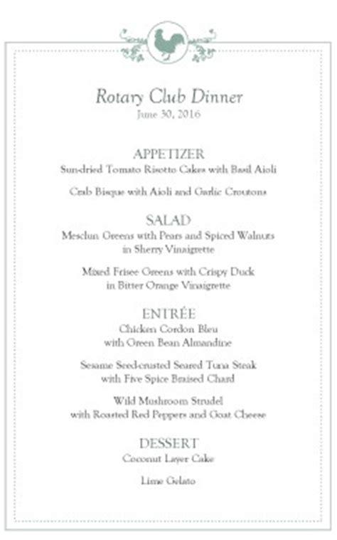buffet breakfast event menu template archive