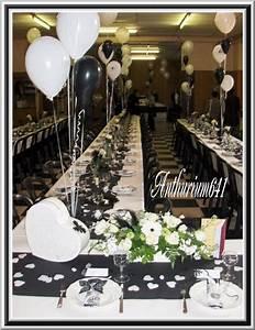 Decoration salle de mariage noir et blanc blog de for Decoration de salle noir et blanc