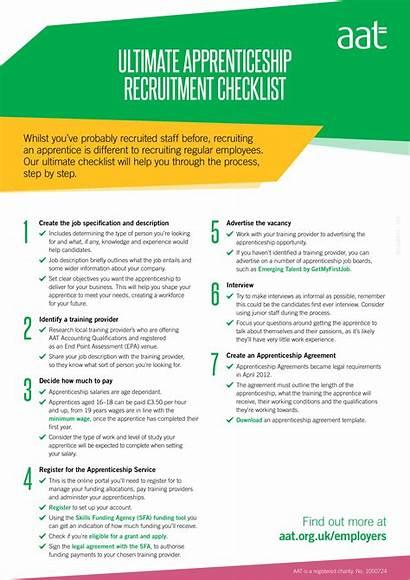 Checklist Recruitment Examples Example Apprenticeship Word