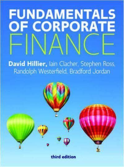 Fundamentals of Corporate Finance : David Hillier (author ...