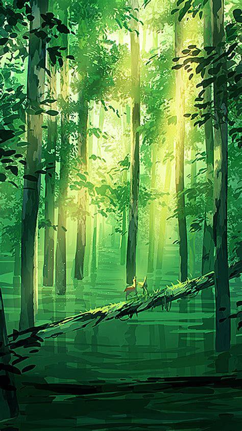cartoon green forest background cartoon green forest