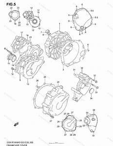 Suzuki Motorcycle 2003 Oem Parts Diagram For Crankcase