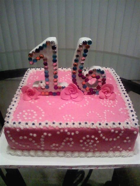 Make everyone's birthday special with name birthday cakes with photo. 16th birthday cake   Flickr - Photo Sharing!