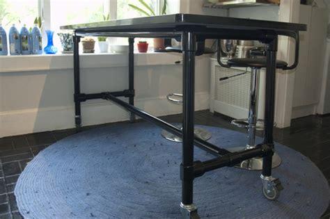 pipe kitchen island k 252 cheninsel selber bauen 1526
