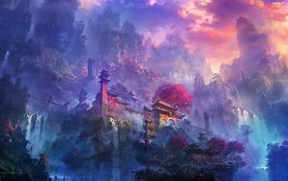 Fantasy Wallpapers Wizard Desktop Castle Backgrounds Px