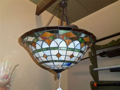 Tiffany Style Lamps Ebay by Vintage Tiffany Style Hanging Lamp