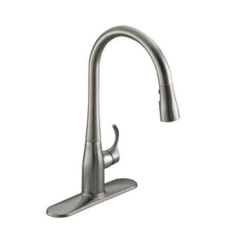 kitchen faucet design kitchen awesome kohler pull out spray kitchen faucet