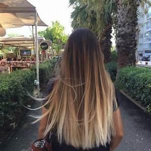Ombré Hair Chatain : ombr hair 15 inspirations qui vont vous faire craquer ~ Dallasstarsshop.com Idées de Décoration