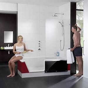 Badewanne Dusche Kombi : dusch badewanne rpb e180 optirelax ~ Frokenaadalensverden.com Haus und Dekorationen
