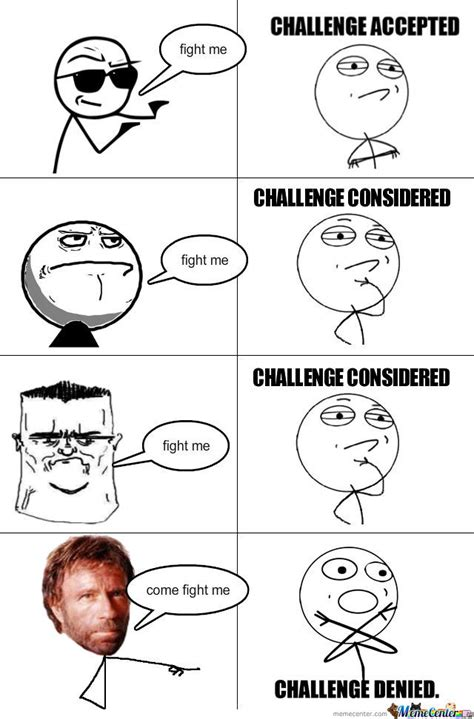 Chalenge Accepted Meme - rage comics challenge accepted www pixshark com images galleries with a bite