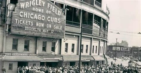 Image result for 1941 - An organ was played at a baseball stadium for the first time in Chicago, IL.