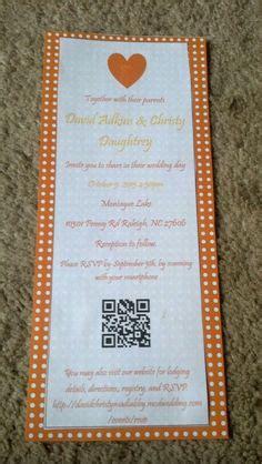 wedding invitation  qr code images wedding