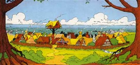 themenbereich asterix archiv lexikon das gallierdorf