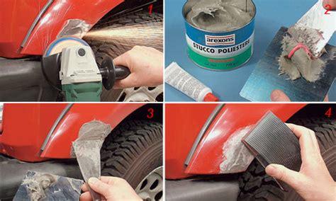 stucco carrozziere riparare carrozzeria auto come si fa bricoportale fai