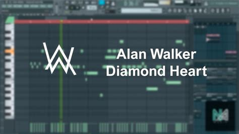 Alan Walker  Diamond Heart (fl Studio, Piano Cover) + Flp