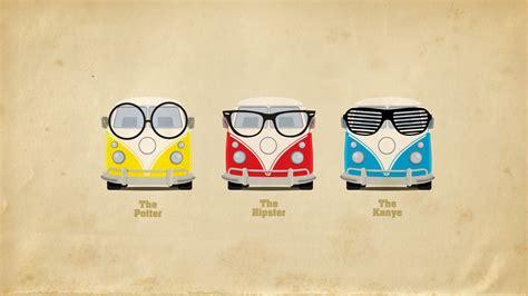 Illustration, Glasses, Logo, Volkswagen