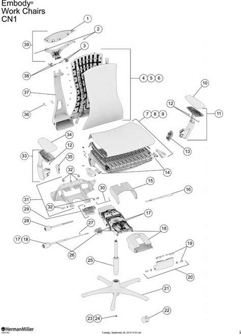 herman miller embody chair parts authorized retailer and